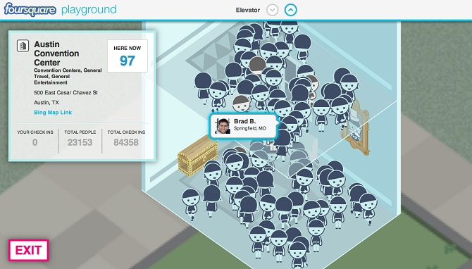 Gaat Foursquare de wereld veroveren met Playground? 2