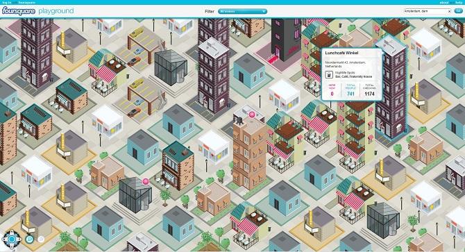 Gaat Foursquare de wereld veroveren met Playground? 1