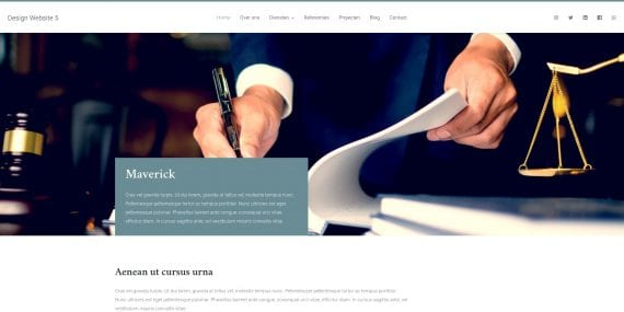WordPress design 3 - Demo