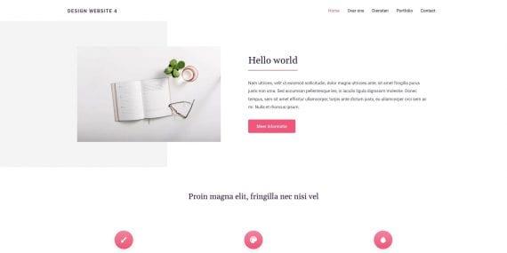 WordPress design 2 - Demo