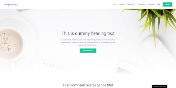 WordPress design 1 - Demo
