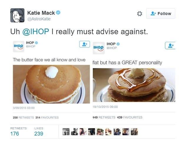 social media blunders ihop