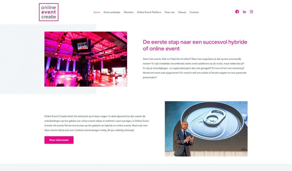 Online Event Creatie